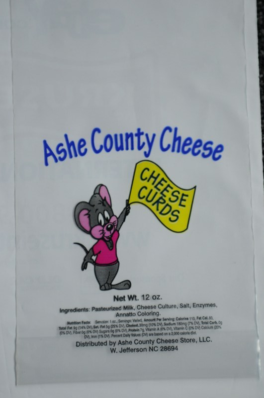 Ashe Country Cheese Bag